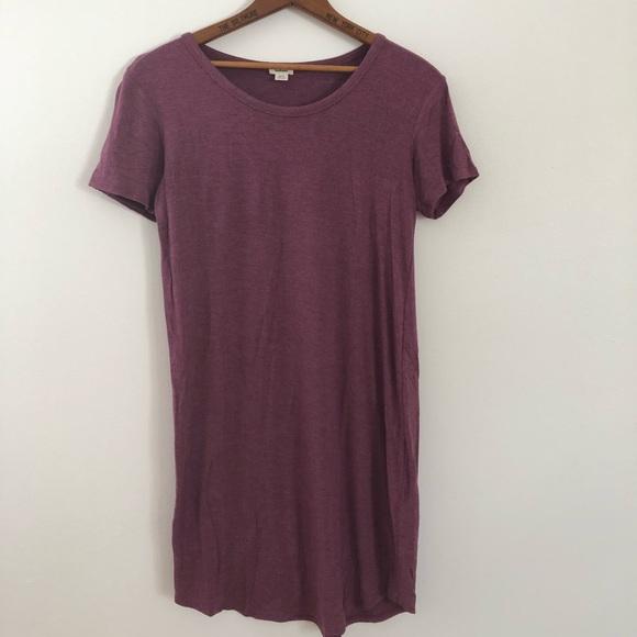 Garage Dresses & Skirts - MAUVE BODY CON DRESS